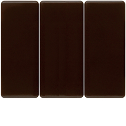 14650001 Rocker 3gang Berker Arsys,  brown glossy
