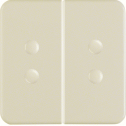 1565 Rocker 2gang Splash-protected flush-mounted IP44, white glossy