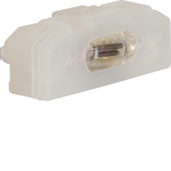 1600 Neon lamp unit for on/off switch 3pole clear,  transparent
