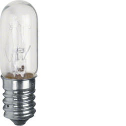161013 Incandescent lamp E14 for pilot lamp high cover clear,  transparent