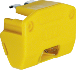 1613 Glow lamp unit for rotary control switch yellow