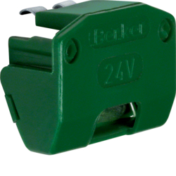 1614 Glow lamp unit for rotary control switch green
