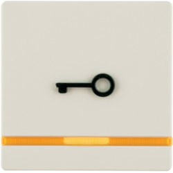 16516062 Rocker for accessible construction with tactile symbol for door,  with orange lens