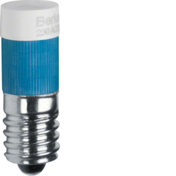 167804 LED lamp E10 blue