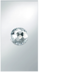 168578 Crystal Ball Berker TS Crystal Ball,  glass clear,  mirrored