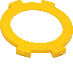 1906 Interlock disk for rotary switch for blinds surface-mounted yellow