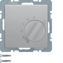 20266084 Thermostat,  change-over contact,  with centre plate