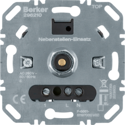 296210 Extension units insert for universal rotary dimmer with soft-lock,  Light control