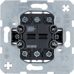 303808 Double change-over switch,  isolated input terminals Light control