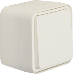 30763502 Change-over switch surface-mounted Berker W.1, polar white matt