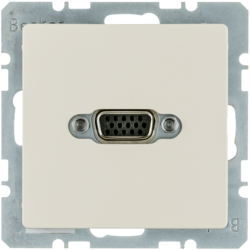 3315416082 VGA socket outlet with screw-in lift terminals