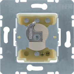 382120 Switch for blinds 1pole for lock cylinder with earth contact,  with neutral-position,  Splash-protected flush-mounted IP44