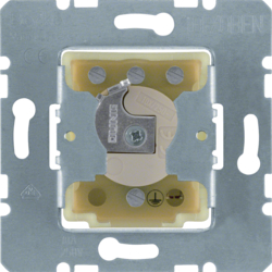 383120 Push-button for blinds 1pole for lock cylinder with earth contact,  Splash-protected flush-mounted IP44