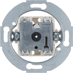 389300 Rotary switch,  2pole off Serie 1930/Glas/R.classic