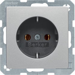 41436084 SCHUKO socket outlet with screw-in lift terminals