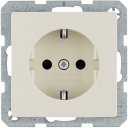 47236082 SCHUKO socket outlet with enhanced touch protection
