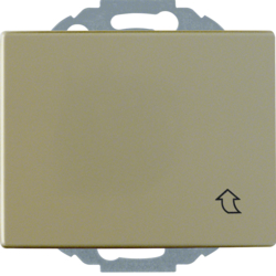 47570001 SCHUKO socket outlet with hinged cover enhanced contact protection,  Mounting orientation variable in 45° steps,  Berker Arsys,  light bronze matt,  aluminium lacquered
