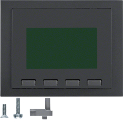 75860075 Info display anthracite matt,  lacquered