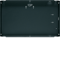 "75900107 Flush-mounted housing for 7"" touch panel KNX,  anthracite,  lacquered"