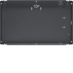 "75900116 Flush-mounted housing for 16"" touch panel KNX,  anthracite,  lacquered"