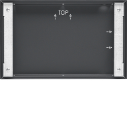 "75900216 Flush-mounted housing for 16"" Touch Panel,  flush-to-wall KNX,  anthracite,  lacquered"