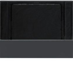 80960175 Cover for KNX thermostats and room controllers anthracite,  matt