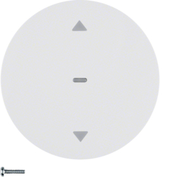 85245139 KNX radio blind button quicklink polar white glossy