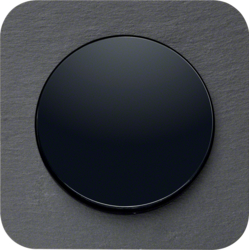 Natural slate, anthracite /<br />Plastic, black glossy