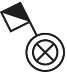 Berker Taster beleuchtet AP W.1 Polarweiß matt 50763502