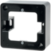 10290065 Frame 1gang surface-mounted Surface-mounted accessories,  black glossy