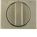 10770101 Centre plate with rotary knob for rotary switch for blinds Berker Arsys,  light bronze matt,  aluminium lacquered