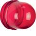 1231 Cover,  high,  for pilot lamp E14 red,  transparent
