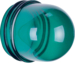1232 Cover,  high,  for pilot lamp E14 green,  transparent