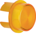 1282 Cover for push-button/pilot lamp E10 yellow,  transparent