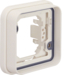 13283502 Frame 1gang for flush-mounted installation with sealing,  Berker W.1, polar white matt