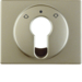 15049021 Centre plate for key push-button for blinds/key switch Berker Arsys,  light bronze matt,  lacquered