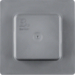 1849 Protective cover for SCHUKO socket outlets/switches grey