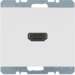 3315427009 High definition socket outlet Berker K.1, polar white glossy