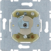 385620 Push-button for lock cylinder with earth contact,  Splash-protected flush-mounted IP44