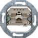 4568 FCC socket outlet,  8 (4)-pole,  cat.3 Communication technology,  white