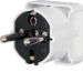 4606 SCHUKO right angle plug Connecting systems,  white