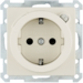 47086082 SCHUKO socket outlet with residual current circuit-breaker enhanced contact protection