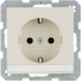 47506082 SCHUKO socket outlet with labelling field