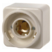 513040 Pilot lamp E14 surface-mounted Surface-mounted,  white glossy