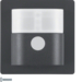 85341226 IR motion detector comfort 1.1 m anthracite velvety,  lacquered